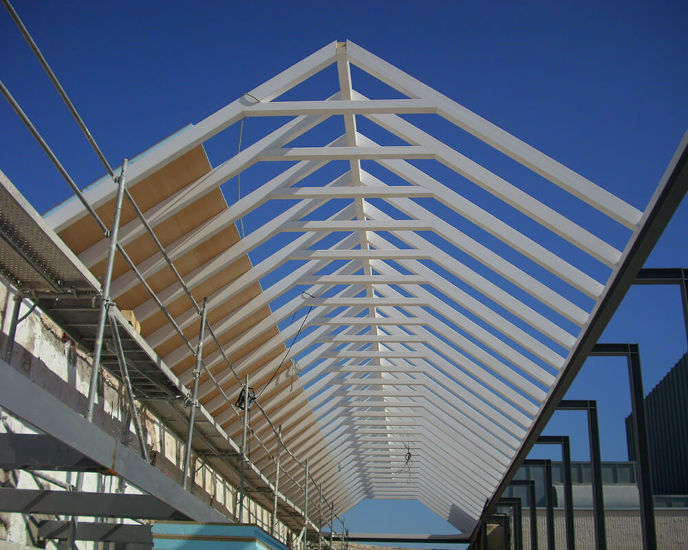 Proyectos estructuras de madera Casa Postas 1