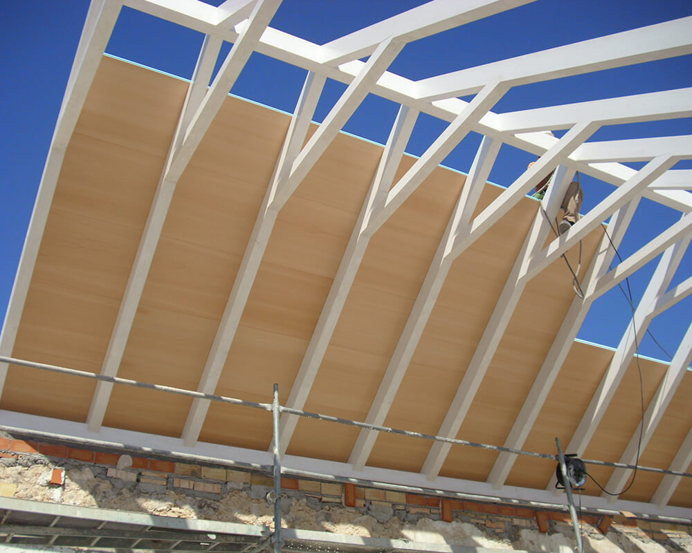 Proyectos estructuras de madera Casa Postas 2