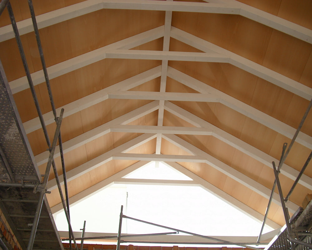 Proyectos estructuras de madera Casa Postas 3