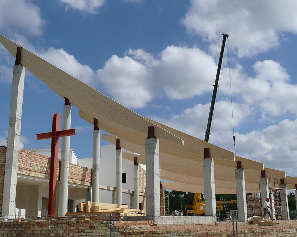 Proyecto estructuras de madera - Costa Ballena 2