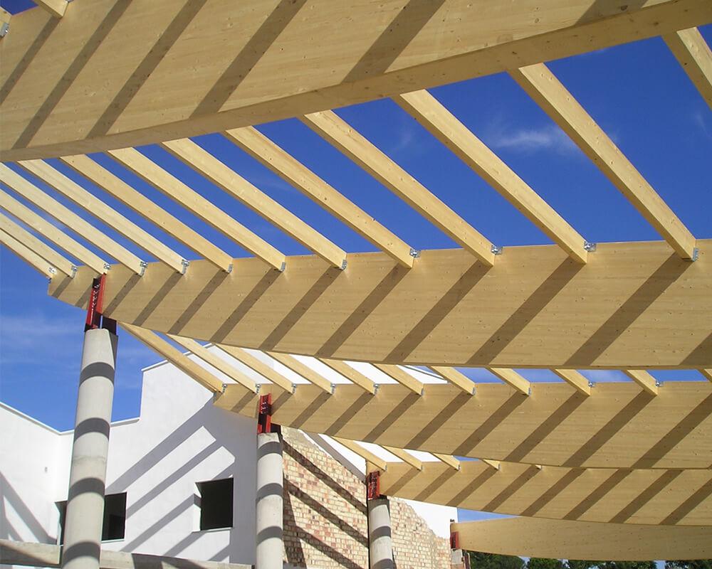 Proyecto estructuras de madera - Costa Ballena