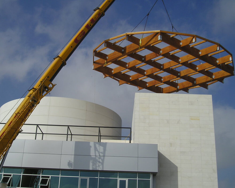 Proyectos estructuras de madera el Puerto 1