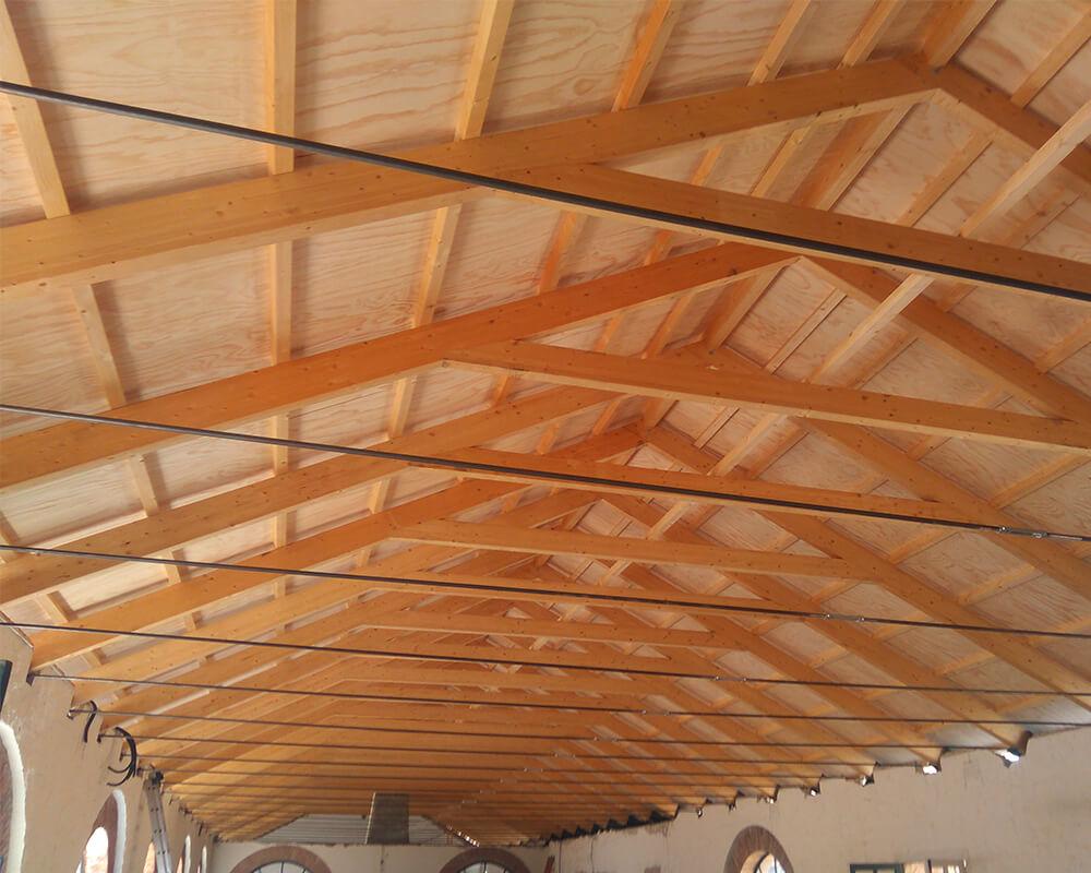 Proyecto estrucutura de madera El Ronquillo 3