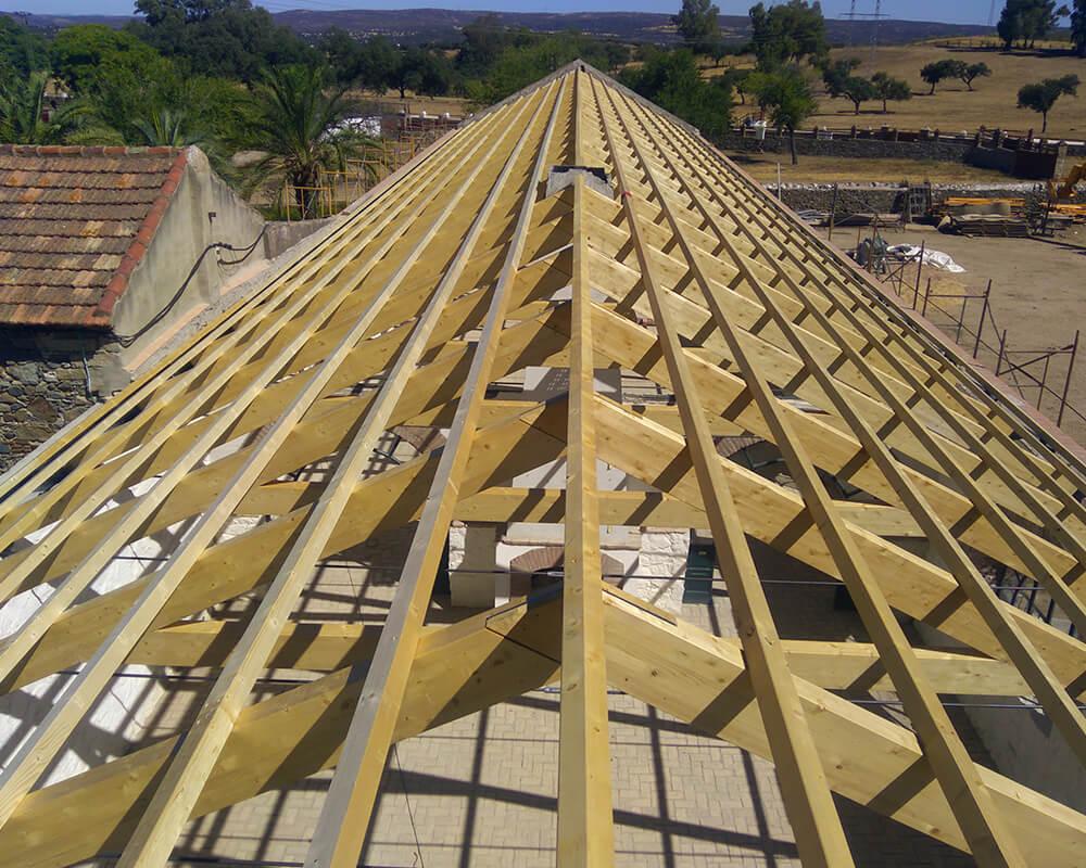 Proyecto estrucutura de madera El Ronquillo 2