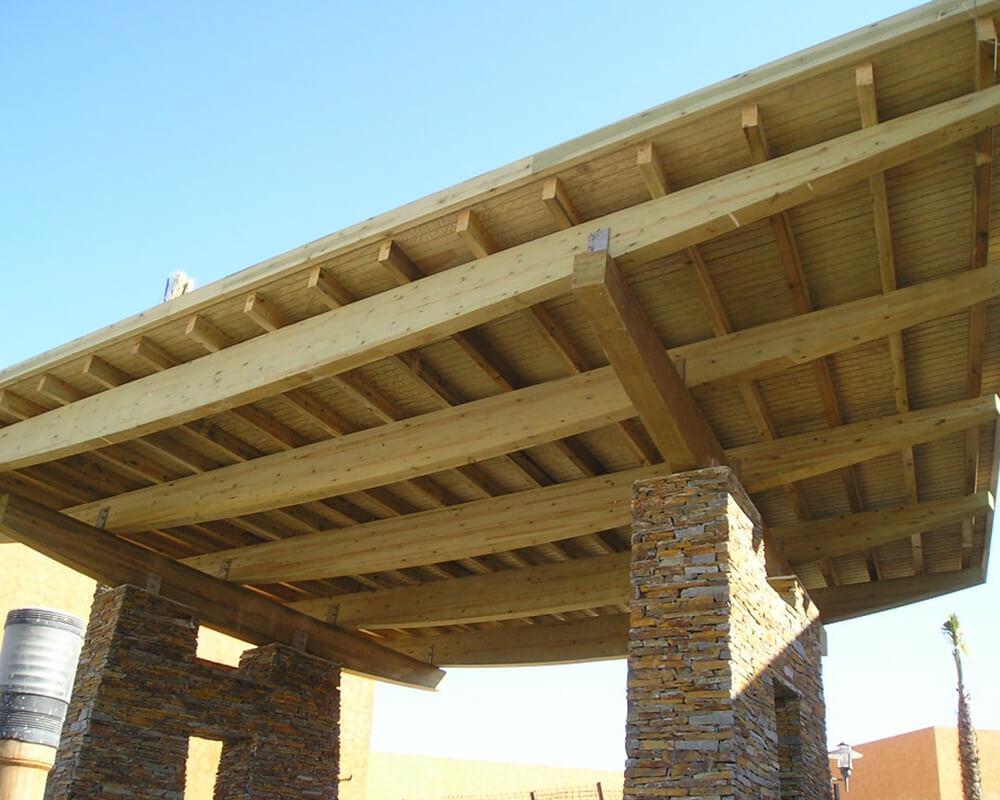 Proyecto estructuras de madera Vera 2
