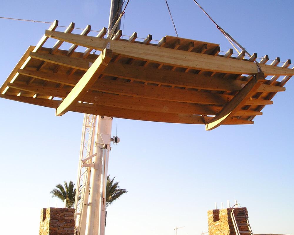Proyecto estructuras de madera Vera 1