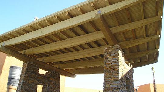 Medidas preventivas en las estructuras de madera