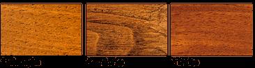 Acabados de madera para ventanas