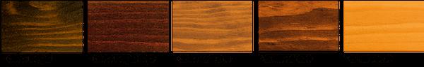 Acabados de madera para ventanas de perfil europeo