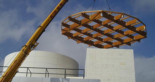 Estructuras de madera para empresas