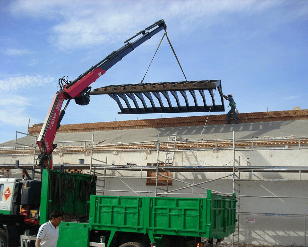 Estructuras de madera - Nave Lagar 6