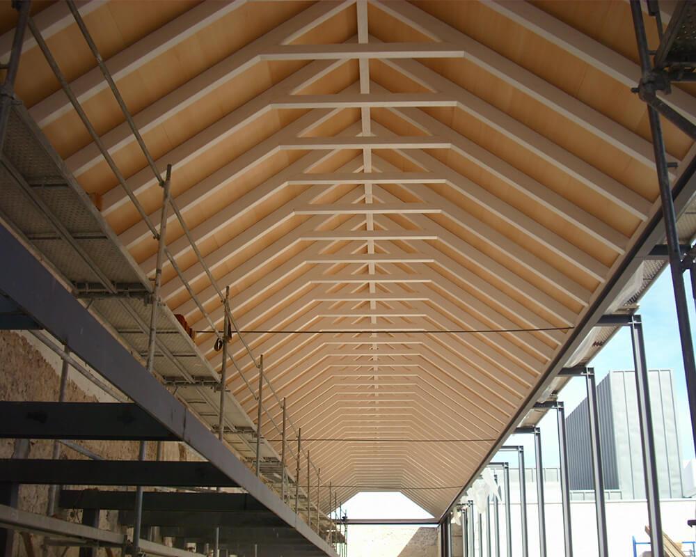 Estructuras de Madera - Casa de Postas - 3
