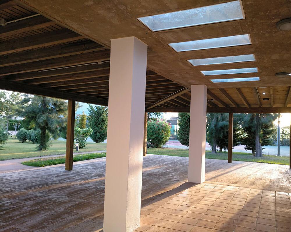 Madera para exterior - Club Social Las Dunas 4