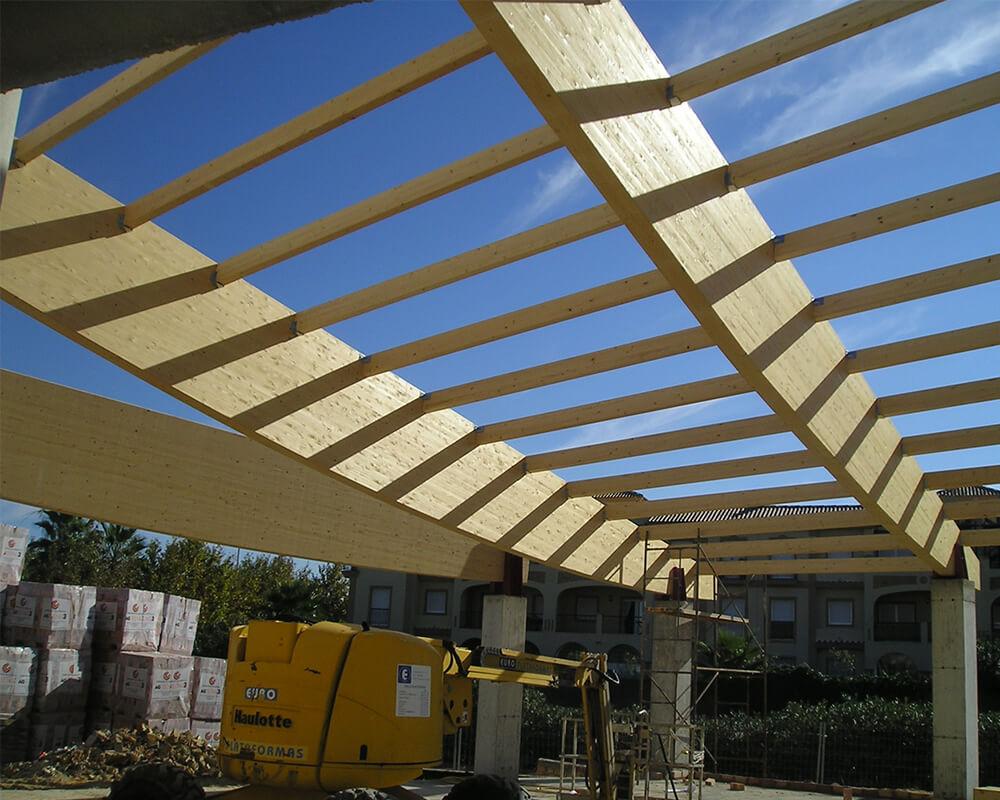 Estructuras madera Costa Ballena 4