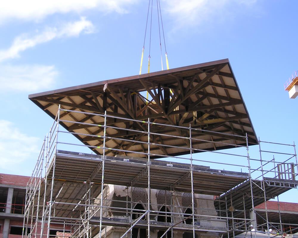 Hotel en Mojacar - Estructuras de madera 6