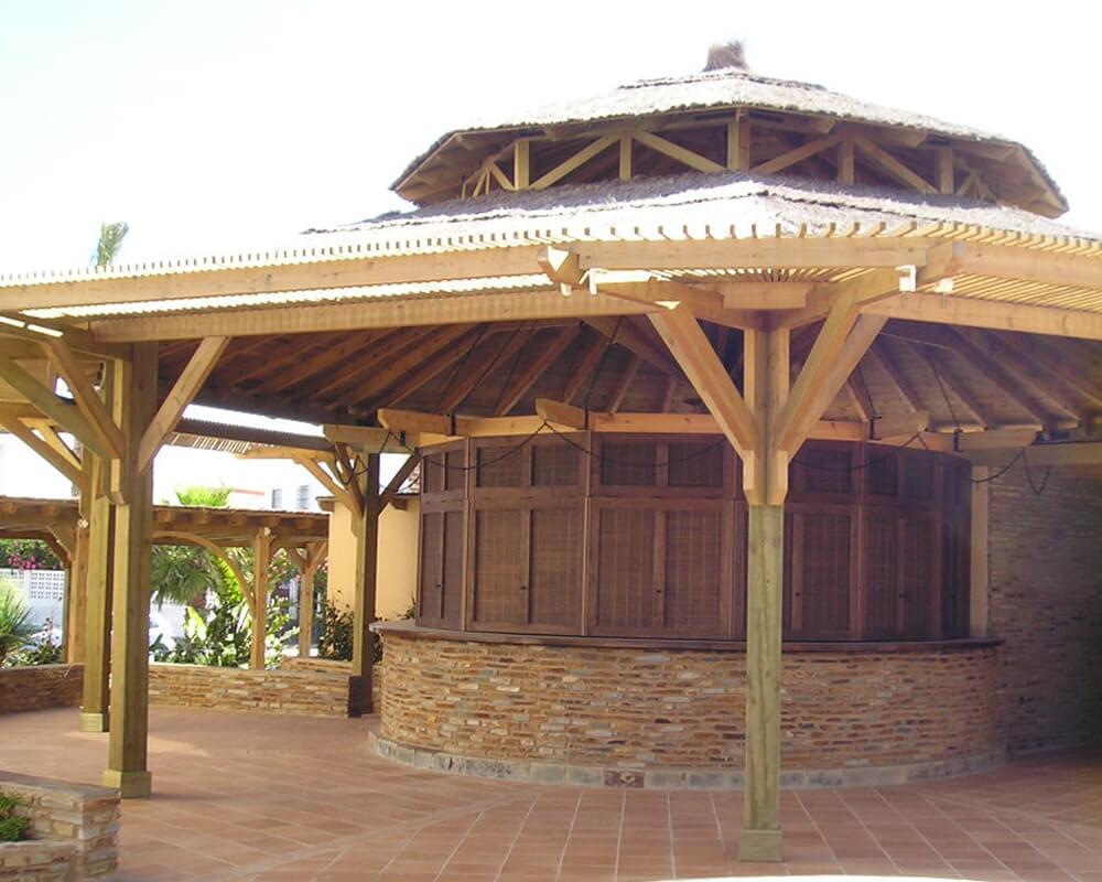 Estructuras de madera - Club Social Islantilla 2
