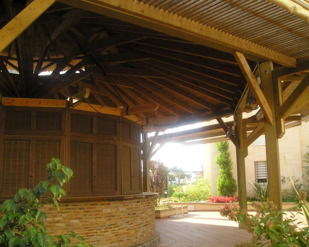Estructuras de madera - Club Social Islantilla 3