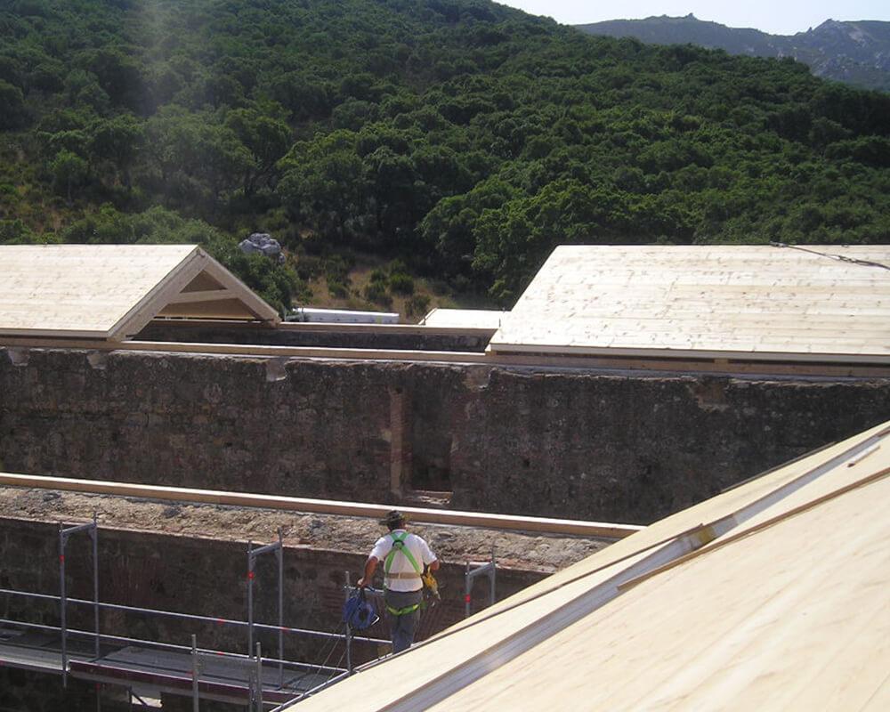 Estructuras de madera - Monasterio El Cuervo 4