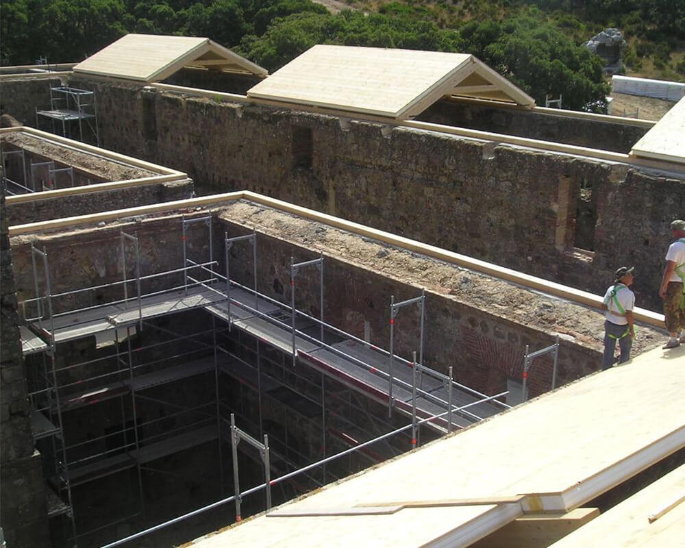 Estructuras de madera - Monasterio El Cuervo 5