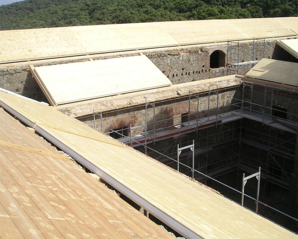 Estructuras de madera - Monasterio El Cuervo 6