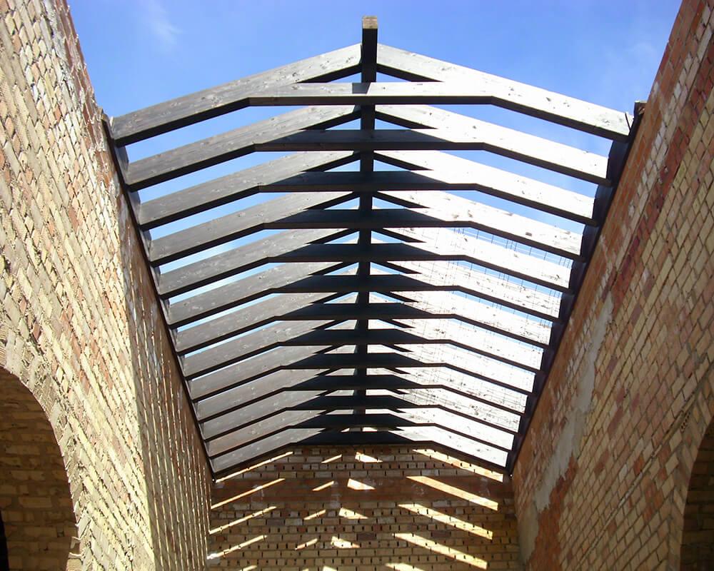 Proyectos estructuras de madera - Nave Lagar 3