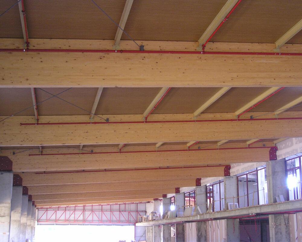 Estructuras de madera en Ayamonte