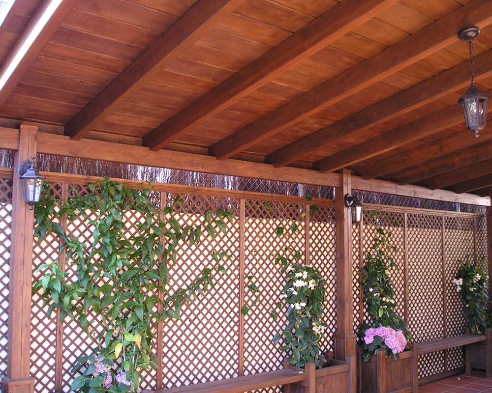 Porches y pérgolas para exterior