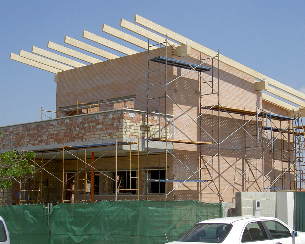Estructura madera - Vivienda particular Almensilla 3