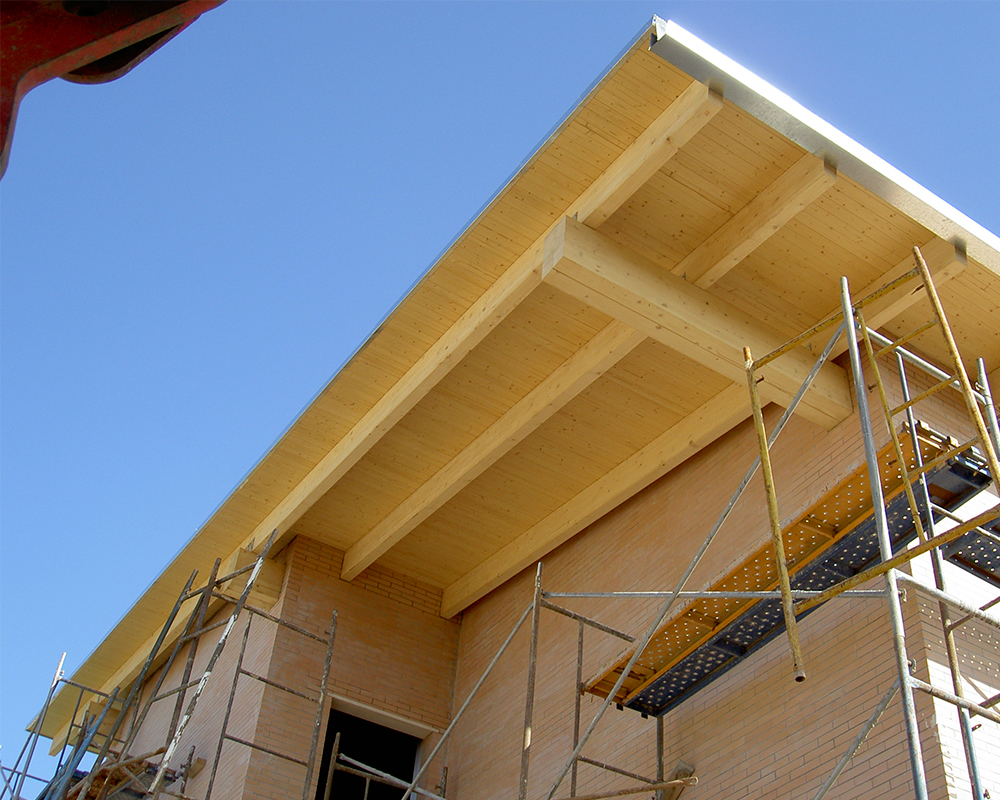 Estructura madera - Vivienda particular Almensilla 2