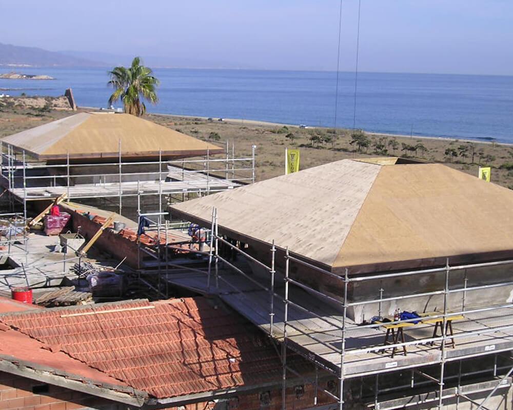 Estructuras de madera - Hotel en Mojácar 4
