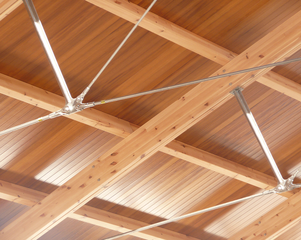Estructuras de madera - Capilla Sancti Petri 3