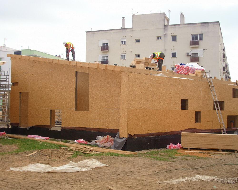 Guardería Municipal - Estructuras de madera