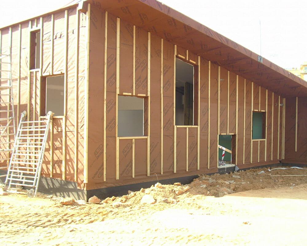 Guardería Isla cristina - Estructuras de madera