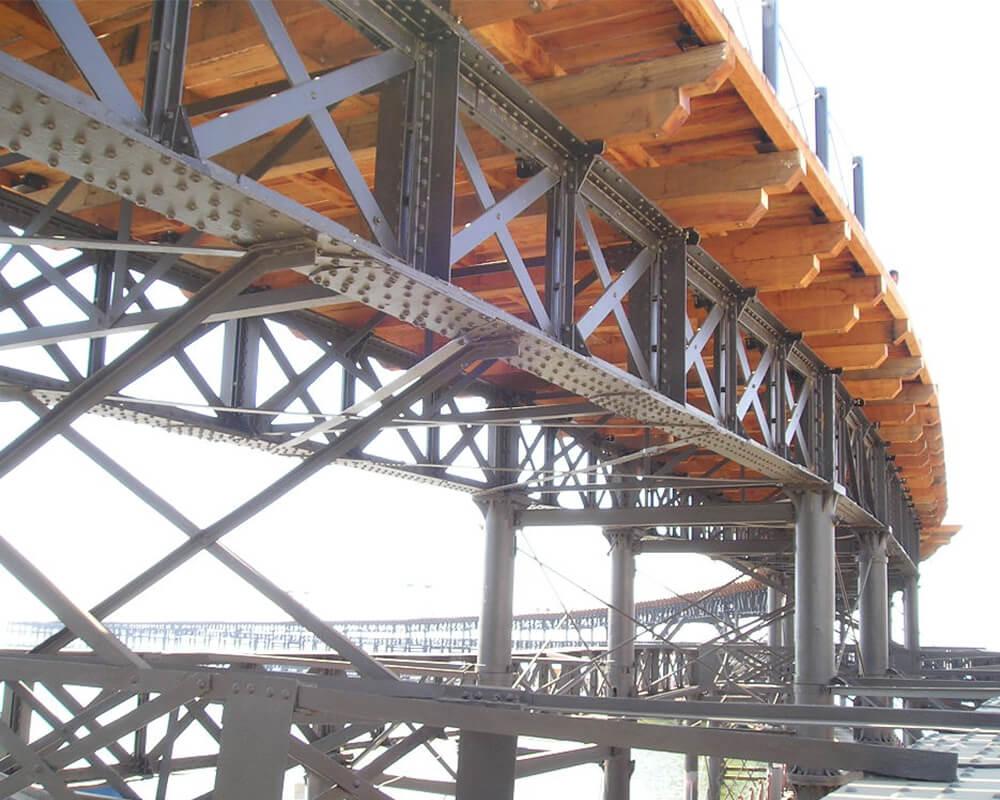 Estructuras de madera - Muelle del Tinto