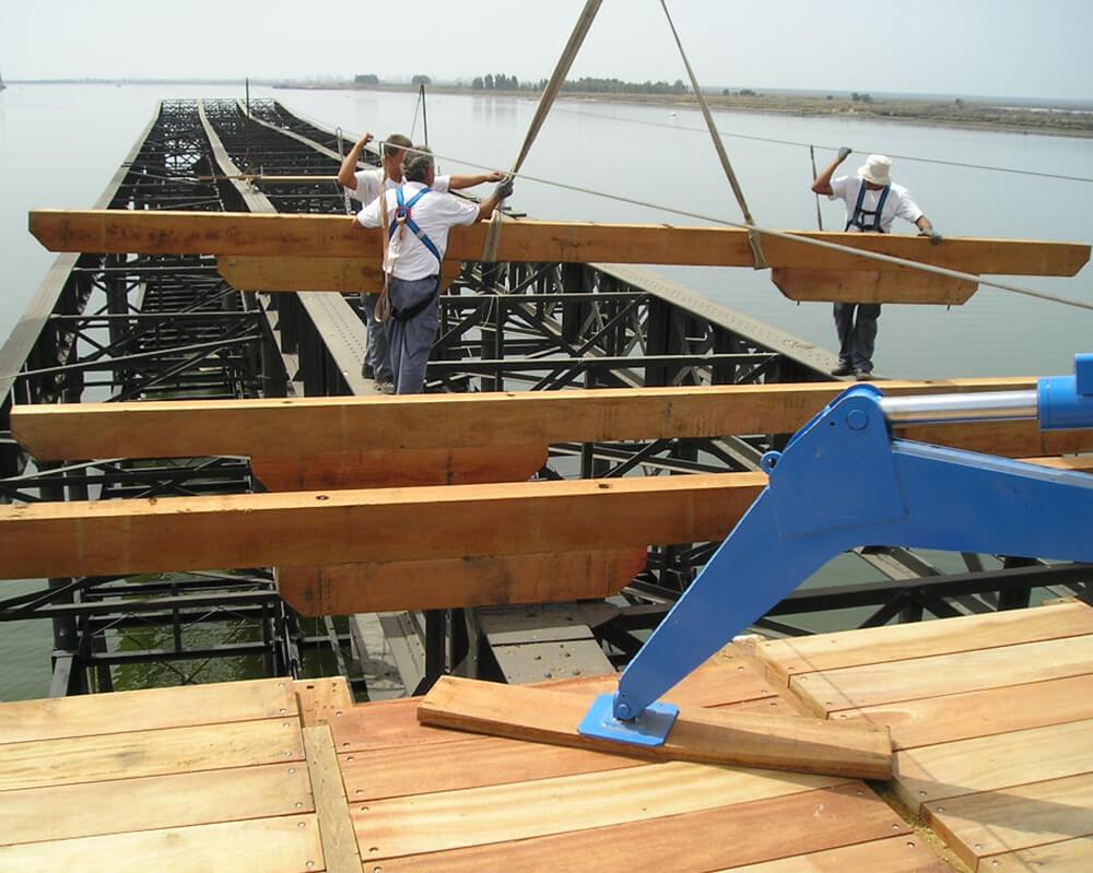 Estructuras de madera - Muelle del Tinto 4