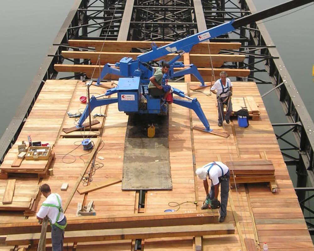 Estructuras de madera - Muelle del Tinto 6