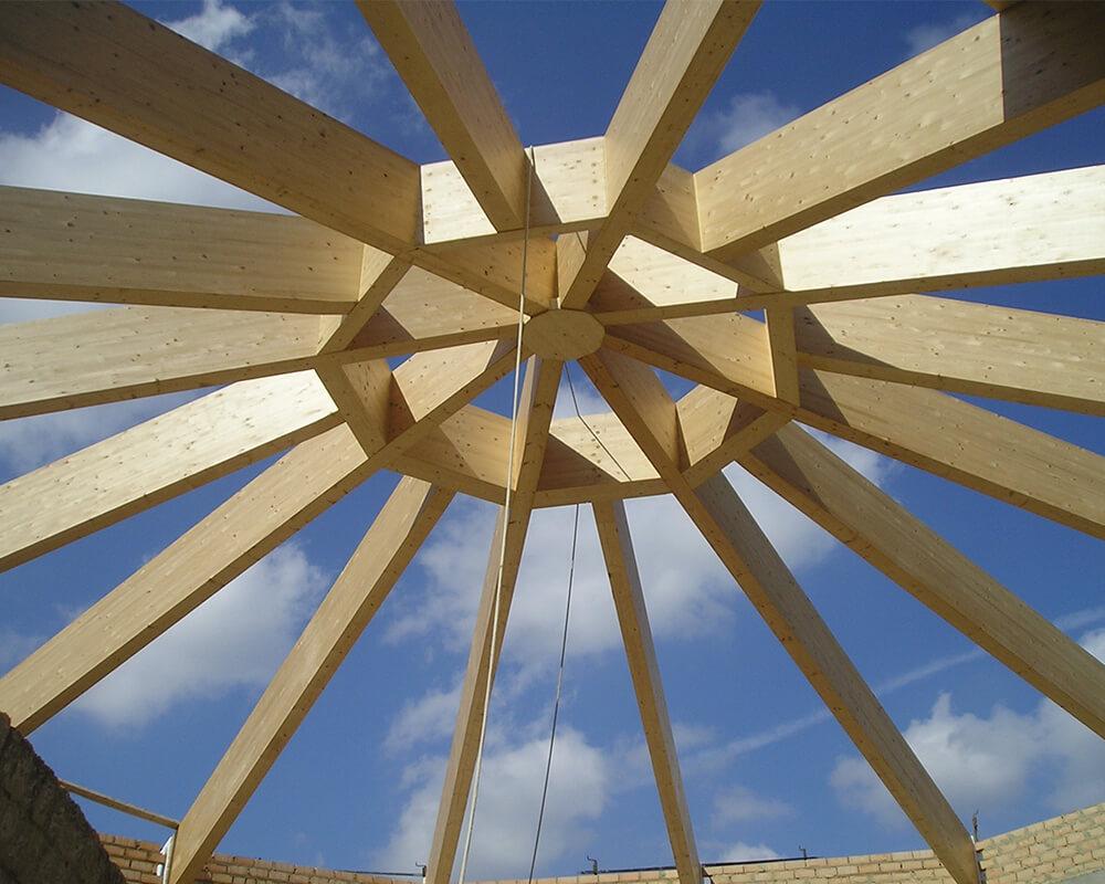 Estructuras de madera en Ubrique 3